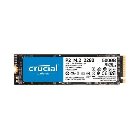 Crucial CT500P2SSD8 P2 SSD 500GB M2 NVMe PCIe