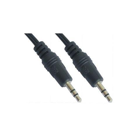 Nanocable Cable audio Jack 35 M M negro 5m