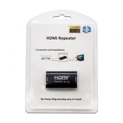 Nanocable Repetidor HDMI V14 A H A H Negro