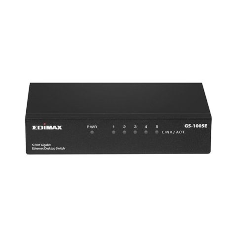 Edimax GS 1005E Switch 5p Gigabit PlugPlay sobrem