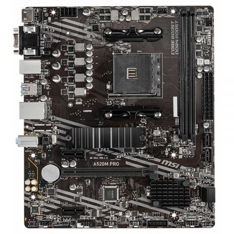 MSI Placa Base PRIME A520M PRO mATX AM4