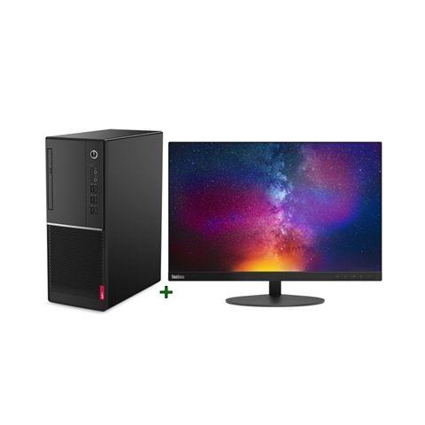 Lenovo PC V530 G4930 4GB 128GB DOS monitor T23d