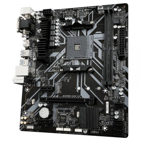 Gigabyte Placa Base B450M S2H V2 mATX AM4