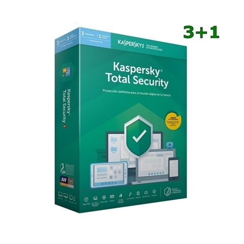 Kaspersky Total Security MD 2020 3L 1A 31