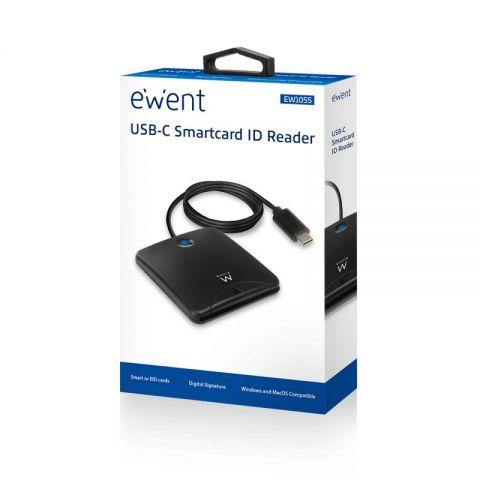 EWENT EW1055 Lector Tarjetas USB C DNI electronic