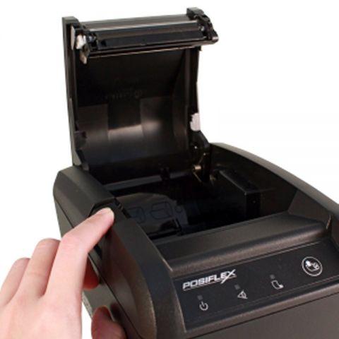 Posiflex Impresora Tickets PP 8803 USB RS232 Red