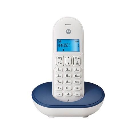 MOTOROLA T101 Telefono DECT Azul