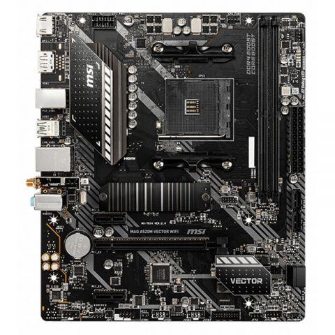 MSI Placa Base MAG A520M VECTOR WIFI mATX AM4